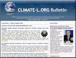 CLIMATE-L.ORG Bulletin is an electronic newsletter published by IISDRS on a fortnightly basis, that contains key précis and summaries posted to CLIMATE-L.ORG during the previous two weeks, along with guest articles on international climate change activities, written by the heads of UN and international bodies.