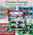 UN Issues Stamps on Global Warming