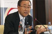 Secretary-General Ban Ki-moon at development financing conference in Doha