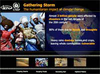 Gathering Storm - The humanitarian impact of climate change