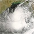 Nargis approaches Myanmar on 1 May 2008 (Image: NASA)