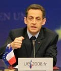 Nicolas Sarkozy, the President of the French Republic, presided over the European Council held in Brussels on 11 and 12 December