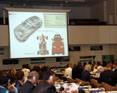 Presentation that noted the use of electric vehicles as one of the key drivers of a global energy transition