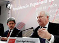 L-R: Mohamed Bolkiah & Miguel Moratinos
