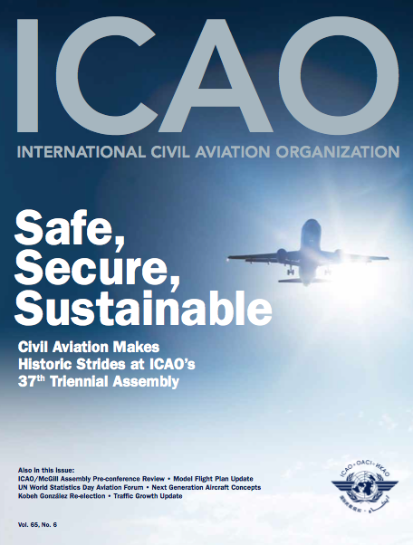 ICAO Journal Reviews Environmental Progress Made at 37th