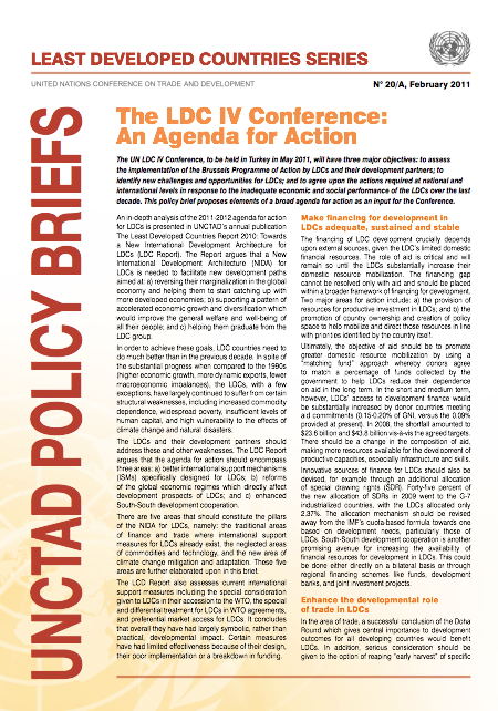 UNCTAD Proposes Agenda for Action at LDC IV | News | SDG Knowledge ...