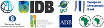 World Bank, IDB, GEF, EIB, EBRD, CIF, ADB, AFDB