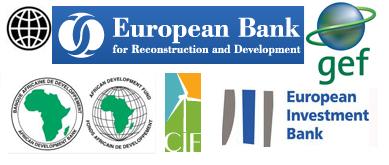 EIB-CIF-AfDB-EBRD-World Bank-GEF