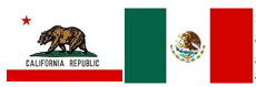 california-mexico-flags