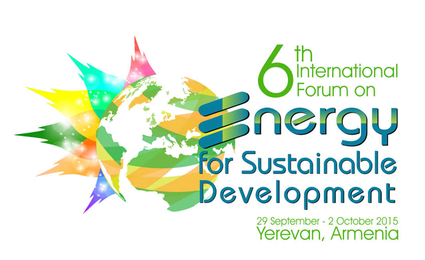 Sixth International Forum on Energy for Sustainable Development