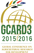 3rd Global Conference on Agricultural Research for Development (GCARD3) - No One Left Behind: Agri–food Innovation and Research for a Sustainable World