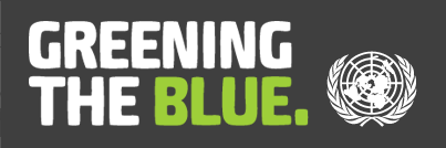 greening the blue logo