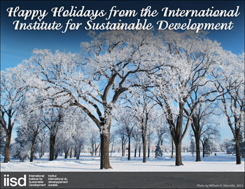 IISD Happy Holidays Card 2012