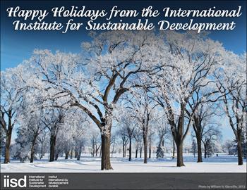 IISD Happy Holidays Card