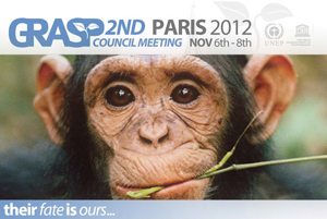 Second Council Meeting of the Great Apes Survival Partnership (GRASP)