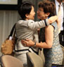 After the GEF Council unanimously decided to appoint Naoko Ishii (Japan) as the next GEF CEO/Chairperson, she greeted the Council and current CEO/Chairperson Monique Barbut.