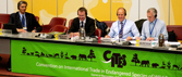 Sixty-second meeting of the CITES Standing Committee dais