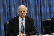 David Nabarro, coordinator of the Secretary-General's High-Level Task Force on the Global Food Security Crisis