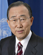 UN, Secretary-General Ban Ki-moon