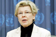 Ambassador Kirsti Lintonen of Finland, Chairperson of Commission for Social Development