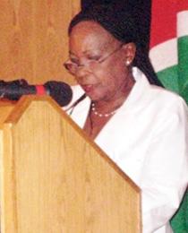 Libertina Amathila, Deputy Prime Minister, Republic of Namibia